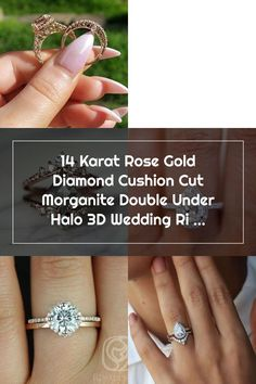 Susie added a photo of their purchase Wedding Rings Teardrop, Cushion Cut, Halo, Rose Gold, Engagement Rings, Crystals, Diamond, Jewelry, Enagement Rings