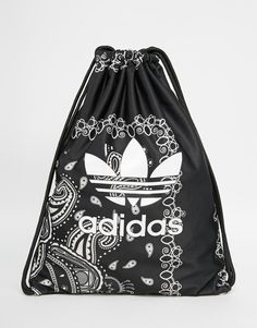 adidas Originals Paisley Print Drawstring Backpack - one of the three adidas  bags on this board 18b2de36e2
