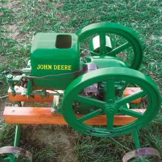 1938 1-1/2 HP John Deere Engine - Engines A to Z - Gas Engine Magazine