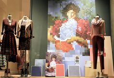 """Anthropologie, New York, """"Color Theory"""", is a science in itself,studying how colors affect different people"""", pinned by Ton van der Veer"""