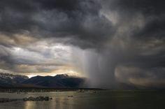Paul Andrew: Evening Storm, Mono Lake