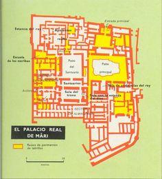 Mapa 4b Palacio real de Mari
