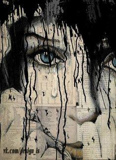 This is my favorite Loui Jover painting. Art Et Illustration, Art Design, Art Plastique, Love Art, Collage Art, Painting & Drawing, Amazing Art, Modern Art, Art Drawings