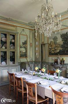 Thonet french 1920s oak bentwood cane rattan bistro - La salle a manger salon de provence restaurant ...