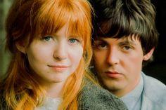 Patti Boyd and Maureen Starkey | Circa April 1965 - Henry Grossman photographed Paul McCartney and Jane ...