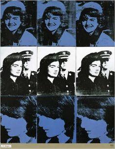 Andy Warhol-Nine Jackies, 1964