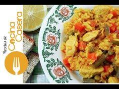 Arroz con pollo fácil - Recetas de Cocina Casera - Recetas fáciles y sencillas