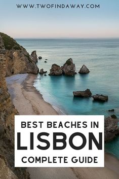 A Complete Guide to the Best Lisbon Beaches Insightful guide to the best Lisbon beaches written by locals. It includes information on several stunning beaches and how to reach them! Visiting these beaches is one of the best things to do in Lisbon. Places In Portugal, Visit Portugal, Lisbon Portugal, Portugal Travel Guide, Europe Travel Guide, Travel Guides, Algarve, Auckland, Lisbon Beaches