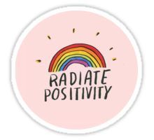 """""""radiate positivity sticker"""" Stickers by Cute Laptop Stickers, Bubble Stickers, Anime Stickers, Cool Stickers, Printable Stickers, Happy Stickers, Journal Stickers, Aesthetic Stickers, Transparent Stickers"""