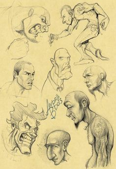 Sketches 03 by *andrebdois on deviantART