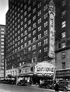 Jerry's Brokendown Palaces: Beacon Theater, 2124 Broadway, New York, NY Beacon Theater, Theatre, Houston Street, Scenic Wallpaper, Broadway News, New York City Photos, Berenice Abbott, 42nd Street, New York City Travel