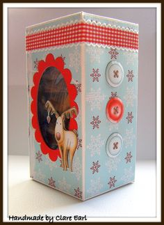 Made using Gingerbread Twist from the Studio 12 Picknix collection  http://www.polkadoodles.co.uk/product_info.php?products_id=5469