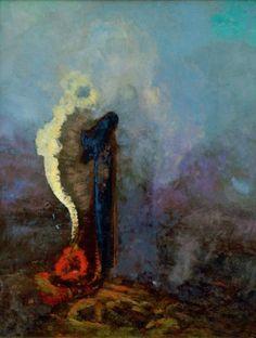 Dream by Odilon Redon, 1904