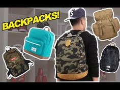 TOP 5 BACKPACKS FOR BACK TO SCHOOL - YouTube