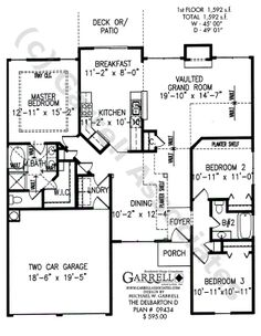 House plans Home and Plan plan on Pinterest