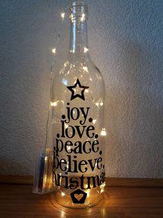 Glitter Wine Bottles, Wine Bottle Glasses, Painted Wine Bottles, Lighted Wine Bottles, Bottle Lights, Wine Bottle Crafts, Reuse Bottles, Mosaic Vase, Decorated Bottles