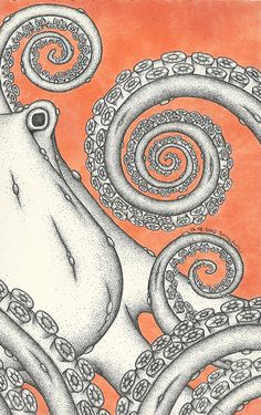 Dotctopus III by BramboraCzech.deviantart.com on @DeviantArt