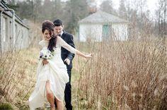 Scottish Highlands Wedding // Inshriach House // 1960s Edwardian Whimsical Wedding // Photography by Helen Abraham