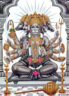 Panchmukhi Hanuman Hanuman Chalisa Song, Hanuman Chalisa Mantra, Hanuman Jayanthi, Hanuman Tattoo, Hanuman Chalisa Audio, Hanuman Photos, Hanuman Images, Hanuman Ji Wallpapers, Lord Shiva Family