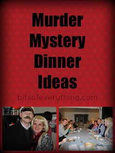 Murder Mystery Dinner Ideas by Bitsofeverything.com  #Halloween  #party