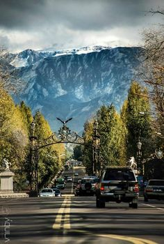 Portones del parque Mendoza, Argentina