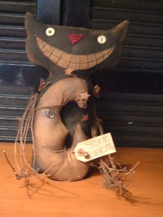 eXtreMe PriMitiVe StuMpy HarVest MooN Cat by BlueMooNBegiNNiNgs, $6.50