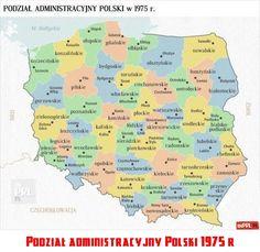 Podział administracyjny Polski 1975 r