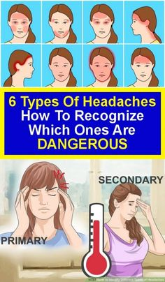 6 headaches types: how to know who are dangerous Tmj Headache, Severe Headache, Tension Headache, Herbs For Health, For Your Health, Ear Health, Health Care, Ge Healthcare, Cluster Headaches