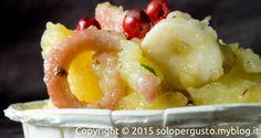 Ricetta: Polpo e patate ai pepi strani del blog di cucina SOLO PER GUSTO per TUTTOFOOD 2015 #Tuttofood2015 http://www.foodconfidential.it/polpo-patate-tuttofood-ricette-food-blogger/