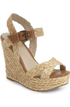 MIA 'Francis' Espadrille Wedge Sandal (Women) available at #Nordstrom