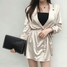 Find images and videos about girl, style and outfit on We Heart It - the app to get lost in what you love. Korean Girl Fashion, Korean Fashion Trends, Ulzzang Fashion, Cute Fashion, Asian Fashion, Look Fashion, Kpop Fashion Outfits, Stage Outfits, Korean Outfits
