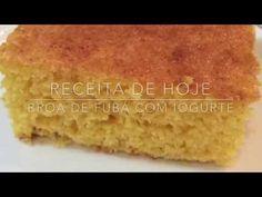 #QuartaFit - Broa de fubá com iogurte - Cozinha da Robs