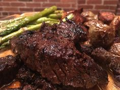 Balsamic & truffle steak tips [Homemade] #recipes #food #cooking #delicious #foodie #foodrecipes #cook #recipe #health