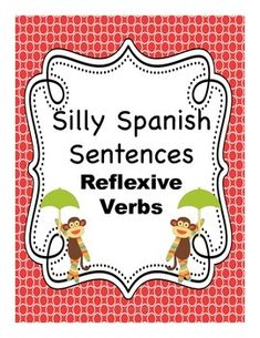 Silly Spanish Sentence Activities are a great way to motivate students and spice up your typical boring grammar drills while building vocabulary.These activities promote both interpretive reading and presentational writing skills.  They provide a structure that will help struggling students while at same time allowing more advanced students to add details according to their abilities.