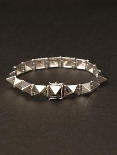 Anita Ko 14k White Gold Medium Spike Diamond Bracelet. 14k White Gold Spikes with 1 Diamond Spike. $5,060.00
