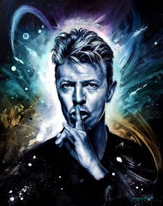 David Bowie painted by Graffiti & Street artists Queen David Bowie, David Bowie Art, David Bowie Ziggy, Angela Bowie, Rock Artists, Street Artists, Glam Rock, David Bowie Tribute, Fantasy Posters