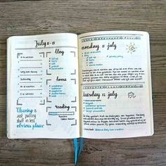 How to: Summer Bullet Journal