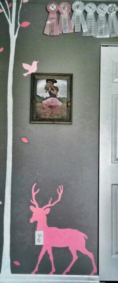 Baby Girl Bedroom Ideas Camo pink camo dresser for our daughter. used pink camo wallpaper, baby