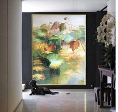 Original Landscape Oil Painting Large Landscape by CelineZiangArt