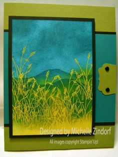 View from the Grasses - MZ by Zindorf - Cards and Paper Crafts at Splitcoaststampers