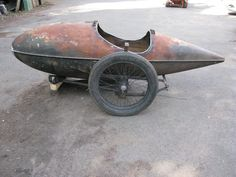 Tales from the Secret Laboratory: Drop -Tank sidecar Antique Motorcycles, British Motorcycles, Cars And Motorcycles, Bicycle Sidecar, Sidecar Motorcycle, Vespa Motor Scooters, Motorised Bike, Cargo Bike, Mini Bike