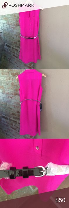 "NWT TALL The Limited Ashton Dress Tall NWT perfect work friendly summer dress! Comes with belt, size XS TALL. Sold out online! Sad to part with it! From shoulder seem to hem is about 37"". The Limited Dresses"