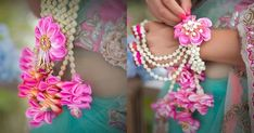 We Just Found The Newest Type of Floral Jewellery & Its Gorge! Flower Jewellery For Mehndi, Flower Jewelry, Jewellery Diy, Jewellery Designs, Wedding Preparation, Indian Bridal, Indian Mehendi, Hair Ornaments, Celebrity Weddings