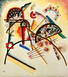 Wassily Kandinsky Composition (red,yellow,black) - Paintings for sale. Wassily Kandinsky, Abstract Words, Abstract Art, Composition, Post Impressionism, Reproduction, Canvas Prints, Art Prints, Museum Of Modern Art