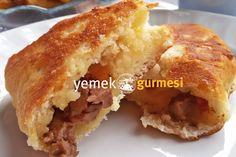 Kavurmalı Hamur Kızartması - http://www.yemekgurmesi.net/kavurmali-hamur-kizartmasi.html