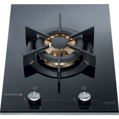 De Dietrich DTG1118X 38cm Wide Rotary Control 6kW Wok Gas Hob With Stainless Steel Front | Appliances Direct