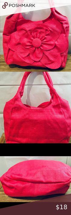 Portable Pocket Purse Pink Suede Pouch Mirror Avon New