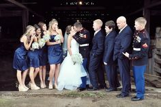 Wedding Party, Marines