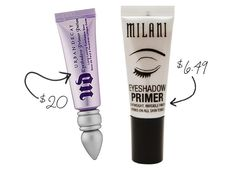 13 Drugstore Steals to Replace High-End Beauty Products: Urban Decay's Primer Potion has long been a cult favorite, but Milani's drugstore steal was mentioned as a great dupe as soon as it was released.