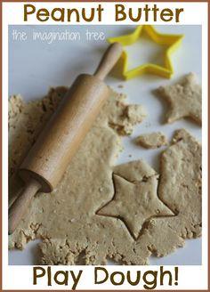 Edible Peanut Butter Play Dough Recipe - The Imagination Tree